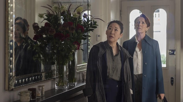 Eve and Carolyn visit Peel's S2Ep2