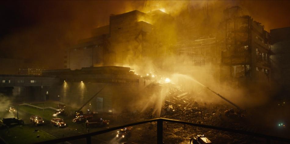chernobyl fire